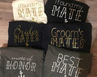 Cruise wedding shirts