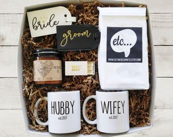 Wedding Gift Box Newlywed Gift Bridal Shower Gift for Bride Gift Box for Couple Christmas Gift for Bride Bride and Groom Gift Honeymoon Gift