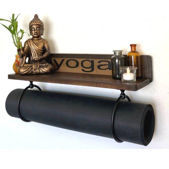 Yoga Mat Holder Handmade Yoga Mat Holder Brown Yoga Mat