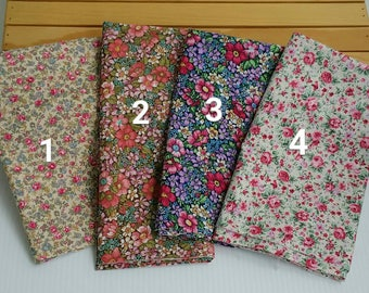 """NEW vintage floral bow kits, 1"""" and 1.5"""" wide sizes"""