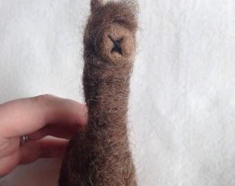 Alpaca Ooak Soft Scupture Gift