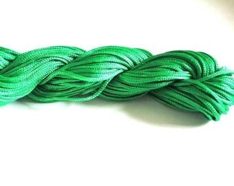 25 m wire nylon Green 1 mm
