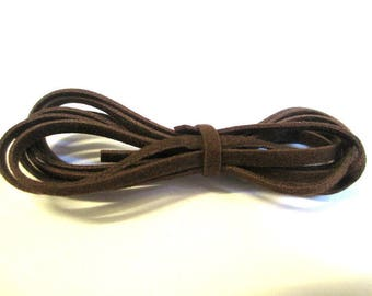 3 x 1 m cord of Brown wool