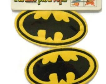 2 badges Patch embellishment fusible applique 7CM