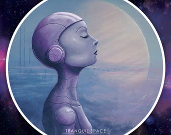 Tranquil Space STICKER