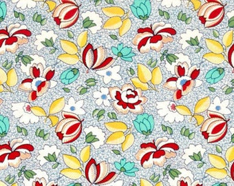 Aunt Grace Floral  Cotton Quilt Fabric Judie Rothermel  By the Yard