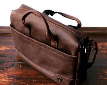 Leather messenger bag men Mens Messenger bag Men's leather bag  Mens leather messenger Brown men bag Leather laptop bag Gift for him Men bag