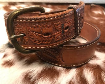 Vintage sz 30 Textan belt (Space on back for name)