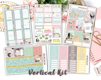 "NEW FORMAT || ""Me Time"" weekly kits planner stickers 