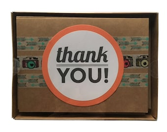 MYSTERY PACK of 8 Congrats + Thank You Cards