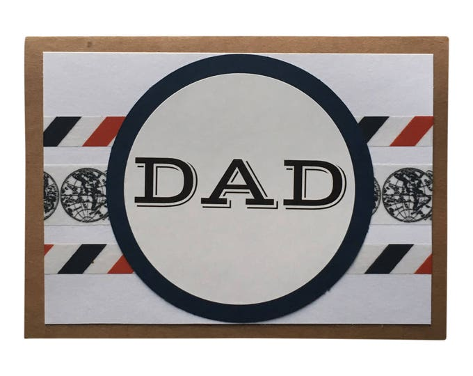 Father's Day Card - Birthday Card for Dad