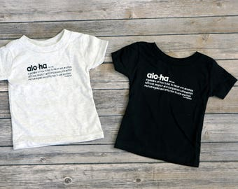 Shirt, Hawaiian Shirt, Toddler, Aloha, Aloha Definition
