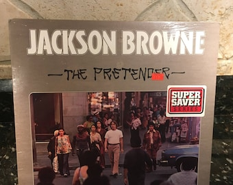"Jackson Browne  - ""The Pretender"" -  Sealed NEW NOS LP Vinyl Record - Vintage Classic - Free Shipping"