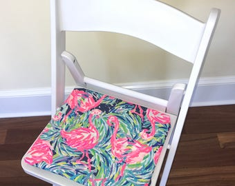 Desk Chair Flamingo Flamenco Beach