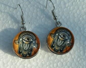 Choose fatima hand earrings