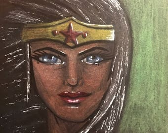 Wonder Woman Artist Tile
