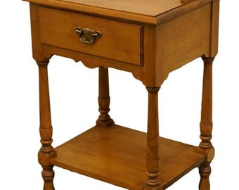 """TELL CITY Young Republic Solid Hard Rock Maple 19"""" Nightstand Andover Finish 8310"""