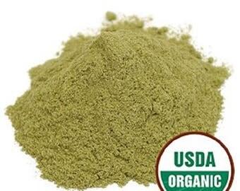 Alfalfa Leaf Powder, Organic 1 Pound