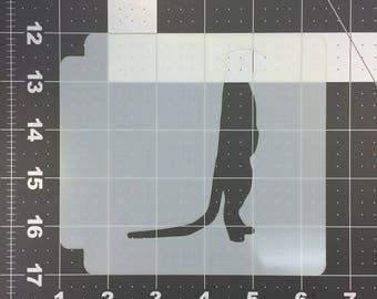 Meerkat Stencil 100