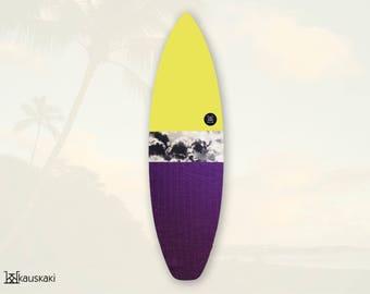 Canary On Marble | Surfboard Sock | Tropics