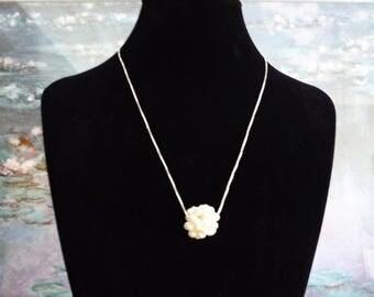 Pendentif en perles d'eau douce &  Chaîne  Argent 925 **Expédition gratuite au Canada**Free shipping in Canada**Cadeau idéal