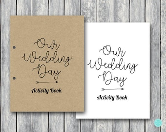 Wedding Kids Activity Book And Coloring Same Sex Marriage Table Activities Generic