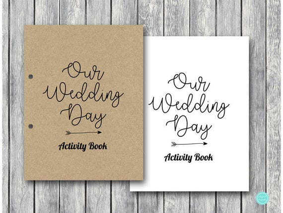 Wedding Kids Activity Book And Coloring Same Sex Marriage Table Activities Generic Childrens Maze TG08