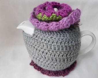 Pure wool tea cosie with free teapot.