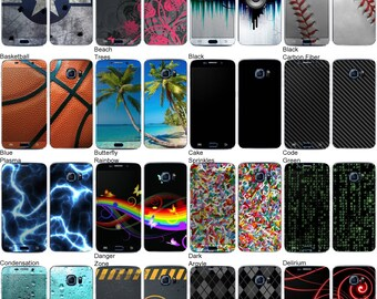 Choose Any 2 Designs - Vinyl Skins / Decals / Stickers for Samsung Galaxy S6 Edge Plus Android Smartphone