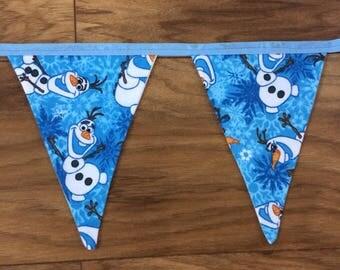 Disney Frozen Olaf Fabric Bunting