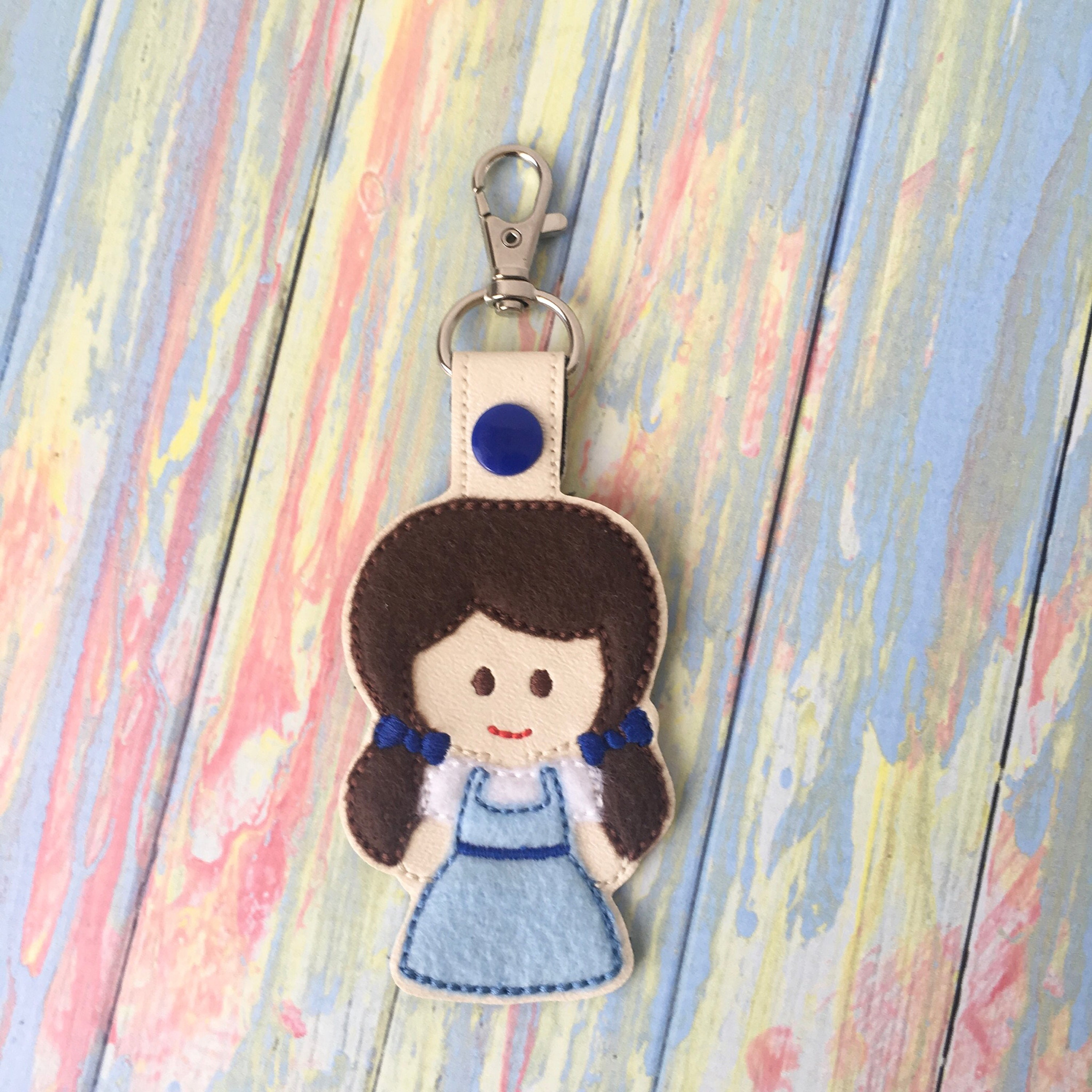 dorothy keychain wizard of oz gift party favor christmas stocking stuffer