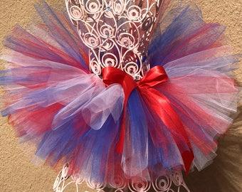 Red, White, and Blue Tutu, Patriotic Tutu, 4th of July Tutu, Baby Tutu, Infant Tutu, Independence Day Tutu, Tutu, Toddler Tutu,  Girls Tutu