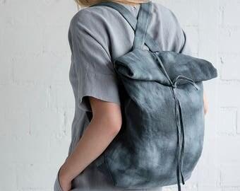 Linen Backpack Motumo – 17B3
