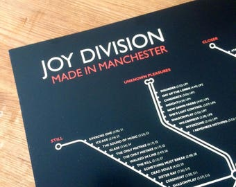 Joy Division - Made in Manchester NEW for 2018!!