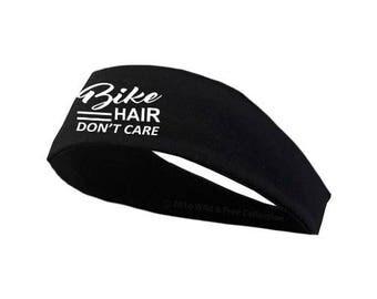 Bike Hair Don't Care Headband   Cycling Headband   Motorcycle headband   Moto headband
