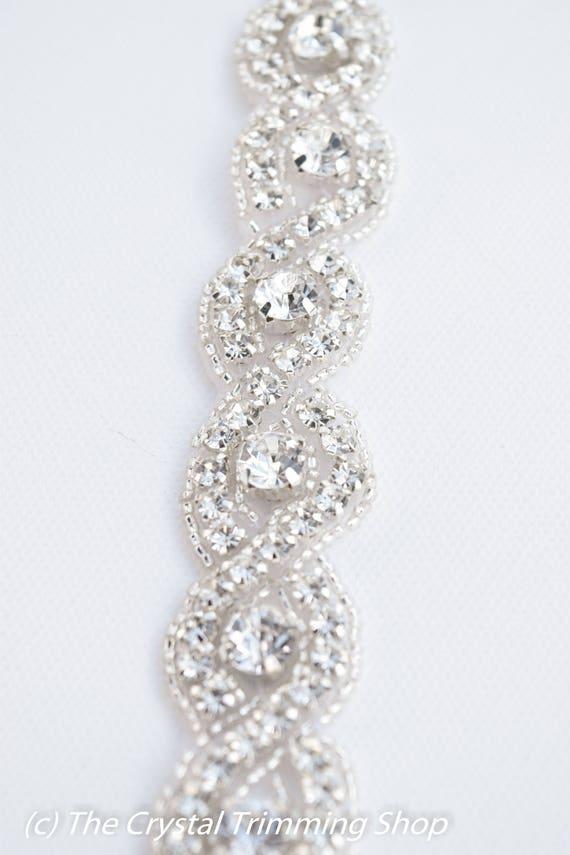 Crystal Rhinestone By The Yard Wholesale Bridal Trim