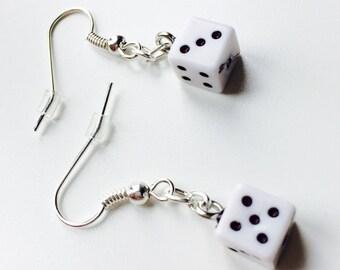 Sale | Dice | Las Vegas | Casino | High Roller | 3D | Cute | Toy | Earrings