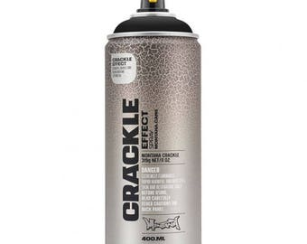Spray paint Crackle effect - black - Montana Can