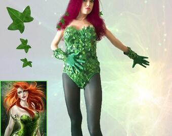 Poison ivy costume | Etsy