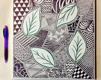 Leaves and Doodles
