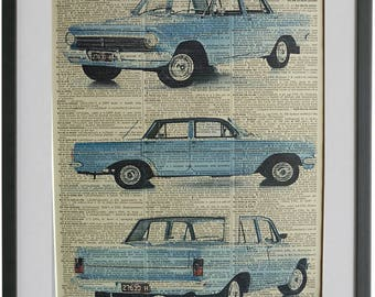 Holden EH Print No.451, vintage cars poster, holden posters, holden wall decal, boyfriend gifts, girlfriend gifts, motor sport gifts