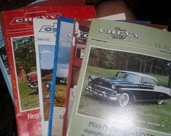 8 Classic Chevy world magazines