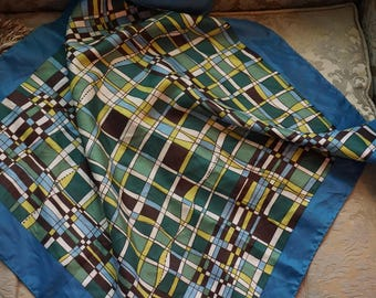 Adorit by Scarves and Allied Art Scarf/Geometric