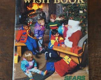1992 Sears Christmas Wish Book