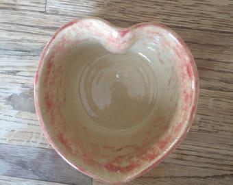 Small Heart Shaped Bowl