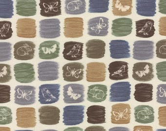 Moda A FIELD GUIDE Quilt Fabric 1/2 Yard By Janet Clare - String 1362 11