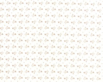 Moda MISTLETOE LANE Bunny Hill Designs 2883 13 White Red FABRIC YARDAGE Christma