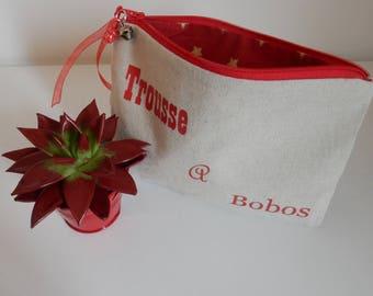 Customizable linen medicine pouch