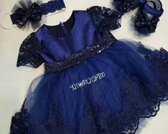 Christening Dress/Gown, Baptism Dress, Baptism Gown,Newborn dress, Baby Girl Dress, Birthday Dress, Dedication Dress, Easter Dress