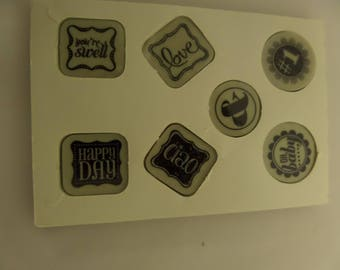 """STAMPIN'UP! Shelli's Signature Collection! Set of 7! Rubber Stamps. """" Ciao, Baby!"""